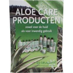 Aloe care poster A3