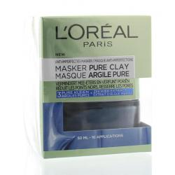 Masker pure clay blue