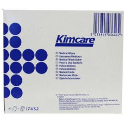 Medical wipes 12 x 22 cm