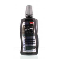 Perfect white black sensitive mouthwash