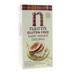 Oatcakes super seeded