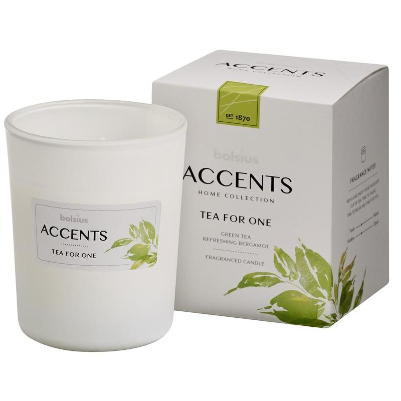 Accents geurkaars tea for one