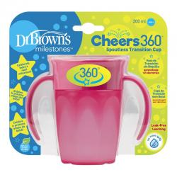 Cheers 360 cup roze 200 ml