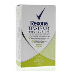Deodorant maximum protection stress control