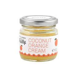 Cream coconut orange