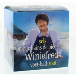 Winiefreds voet bad zout