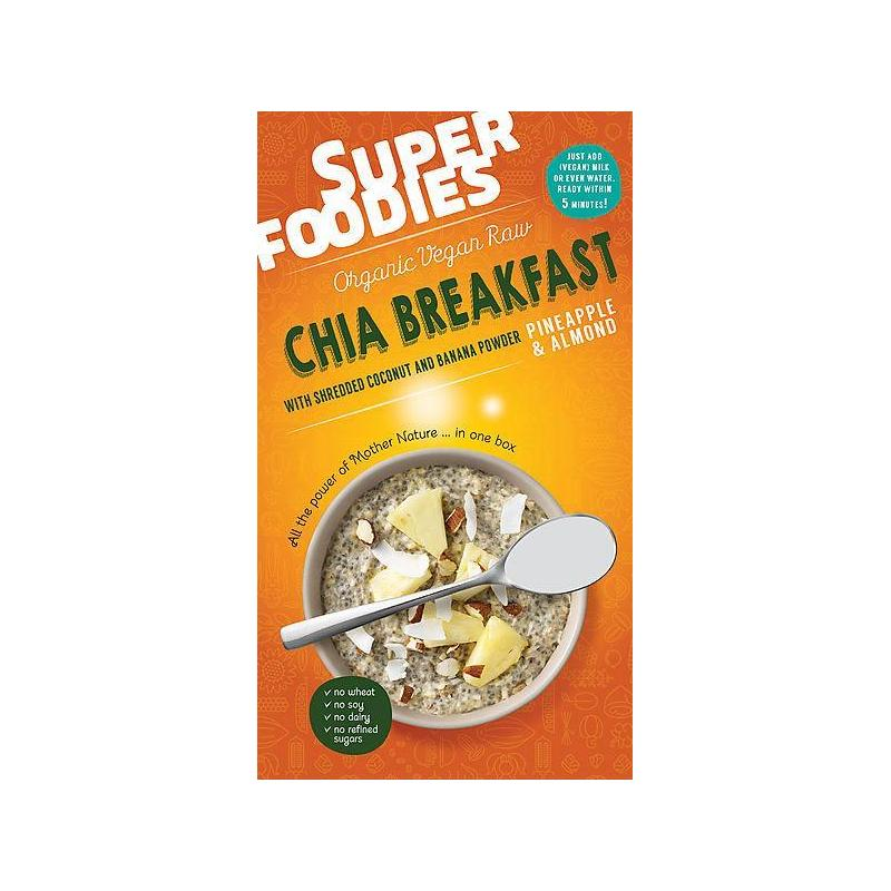 Chia breakfast pineapple & almond