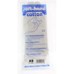 Verbandhandschoen soft cotton XS