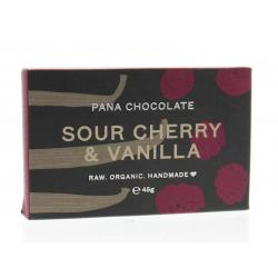 Sour cherry & vanille 60% cacao