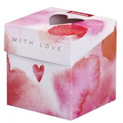 Cadeauverpakking geurglas with love 90/83