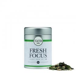 Fresh focus green tea ginkgo bio