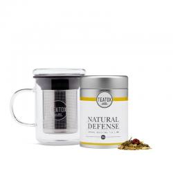 Natural defense green tea ginger bio
