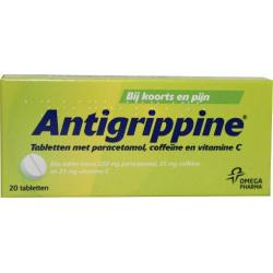 Antigrippine 250 mg paracetamol