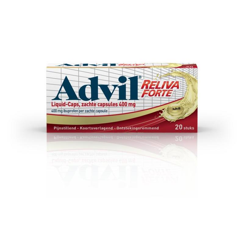 Advil liquid caps 400