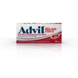 Advil 400 mg ovaal blister