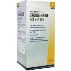 Broomhexine HCL 4MG/5ML  0.8 mg