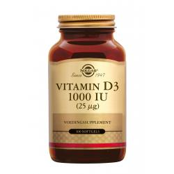 Vitamin D-3 25 µg/1000 IU softgel