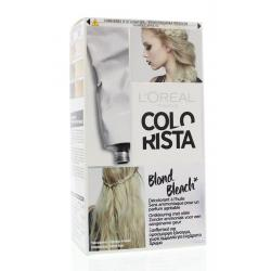 Colorista blond bleach...