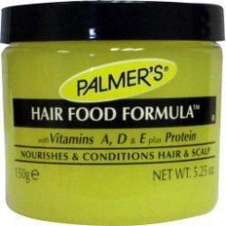 Hair food formula pot