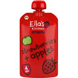 Strawberries and apples 4+...