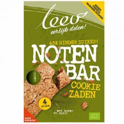 Bio cookiebar noten & zaden