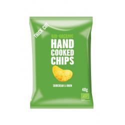 Chips handcooked sour cream...