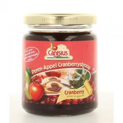 Peer appel cranberry stroop